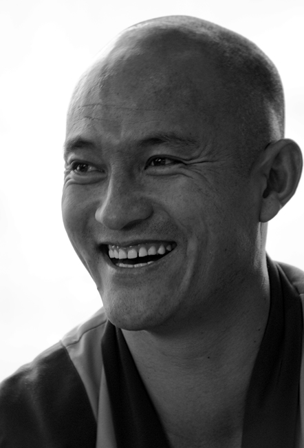 "photo ""On a visit at the Tibetan monks №4"" tags: portrait, man"
