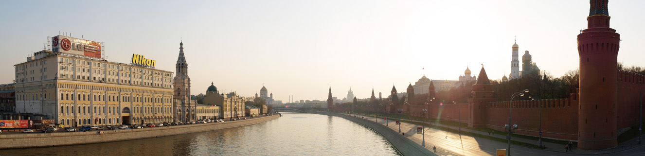 "photo ""Moscow river"" tags: panoramic,"