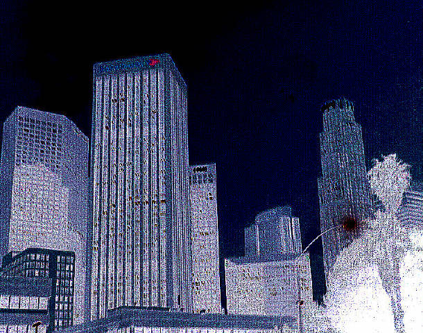 "photo ""L.A. Hi Rise"" tags: architecture, montage, landscape,"