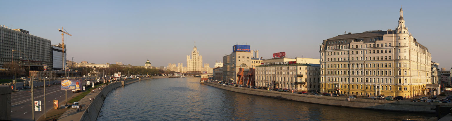 "photo ""Moscow River 2"" tags: panoramic,"