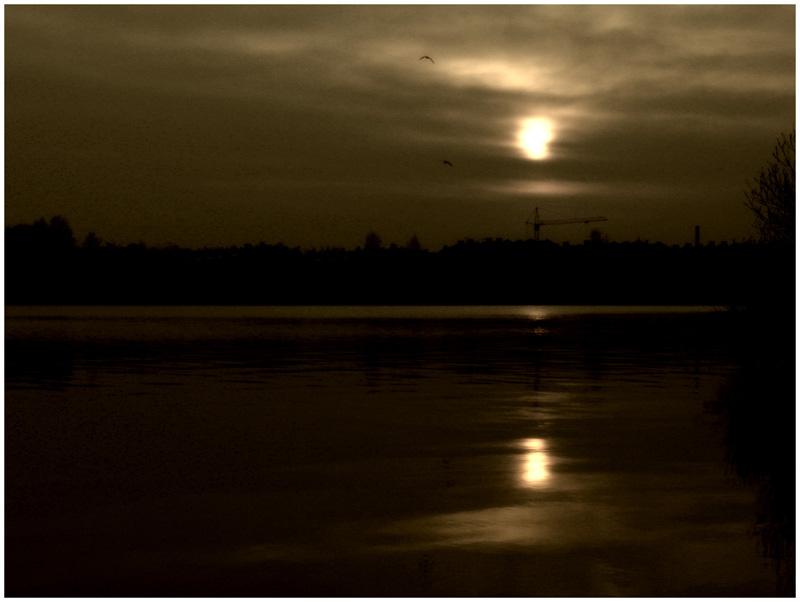 """фото """"на закате..."""" метки: пейзаж, закат"""