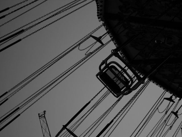"photo ""Swing..."" tags: black&white, misc.,"