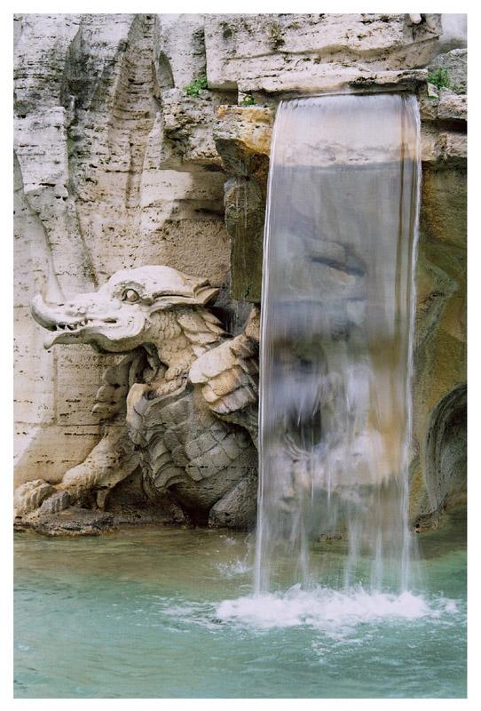 """photo """"La Fontana dei Quattro Fiumi"""" tags: architecture, travel, landscape, Europe"""