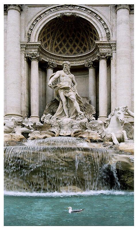 """фото """"La Fontana di Trevi"""" метки: архитектура, путешествия, пейзаж, Европа"""