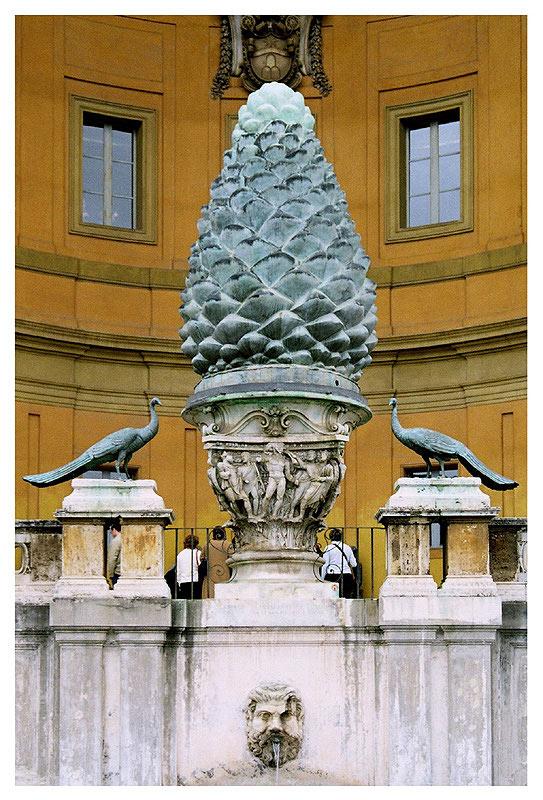 """фото """"La Fontana della Pigna"""" метки: архитектура, путешествия, пейзаж, Европа"""
