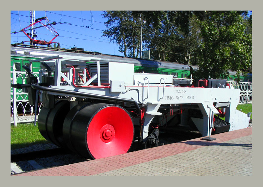 "photo ""Railway asphalt spreader  8-)"" tags: humor,"