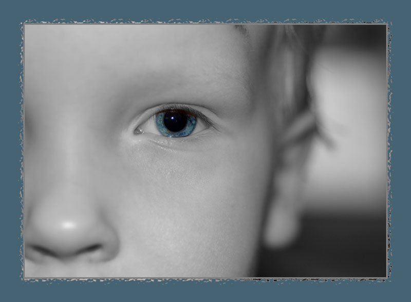 "photo ""Dad, who's your real friend - your son or your new Nikkor lens!"" tags: portrait, macro and close-up, children"