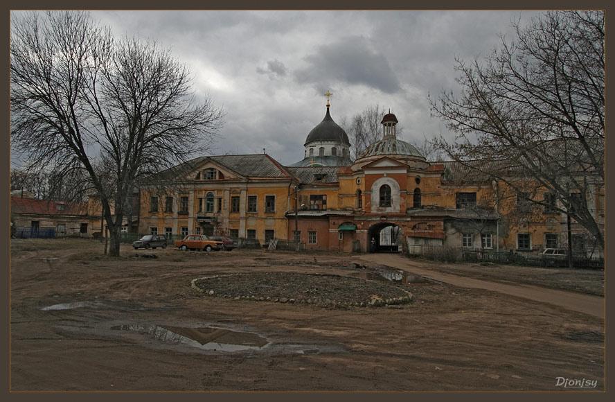 """фото """"Тверской дворик."""" метки: архитектура, пейзаж,"""