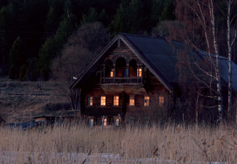 "фото ""Окнами на закат..."" метки: пейзаж, закат"