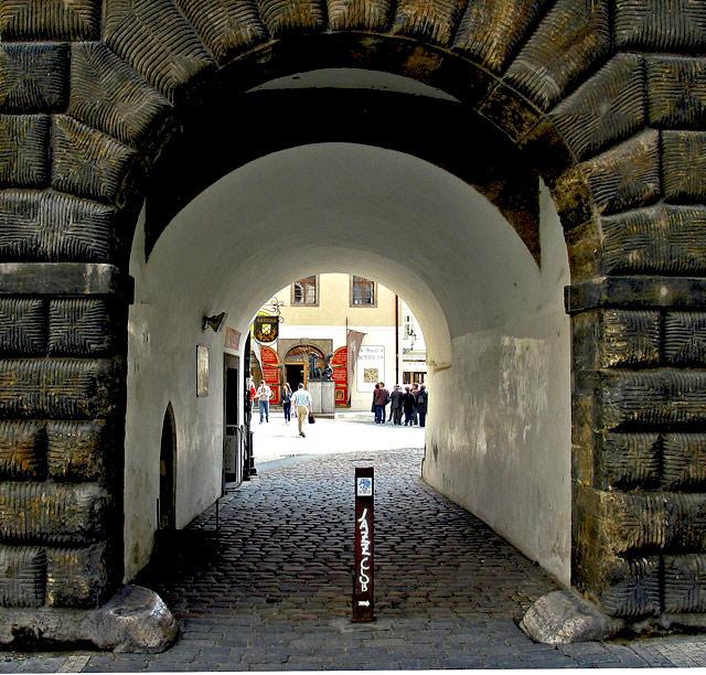 """фото """"Walk through an arch"""" метки: путешествия, Европа"""