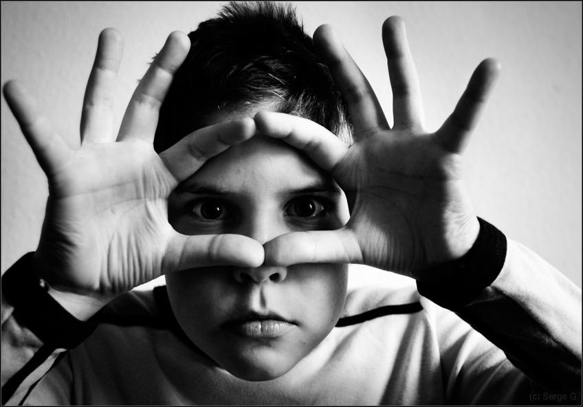 """фото """"- 0 -"""" метки: портрет, черно-белые, дети"""