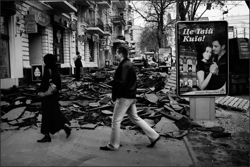 """фото """"Про твой Киев и нашу Украину"""" метки: черно-белые, архитектура, пейзаж,"""