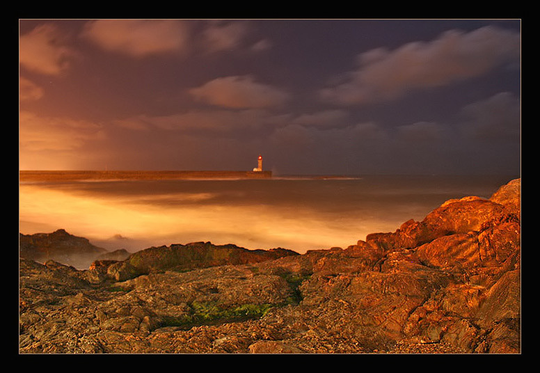 "photo ""the lighthouse"" tags: landscape, night"