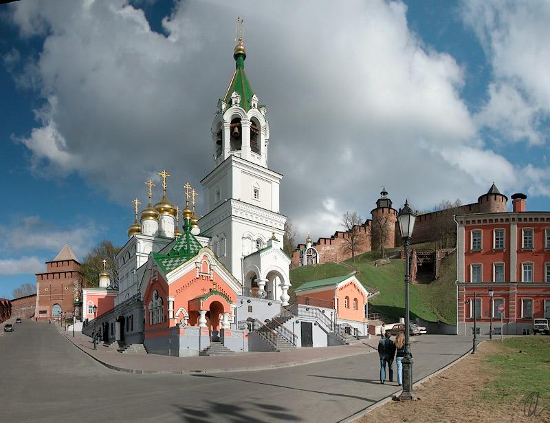 "photo ""Panorama of Nizhny Novgorod #1"" tags: architecture, landscape,"
