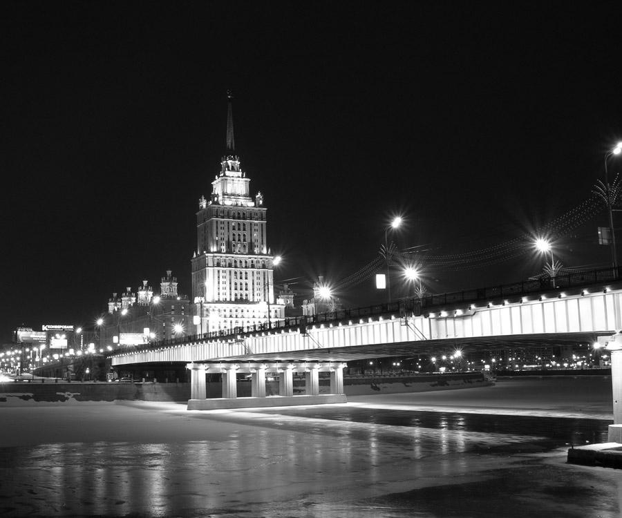 "фото ""Вид на гостиницу ""Украина"""" метки: ,"