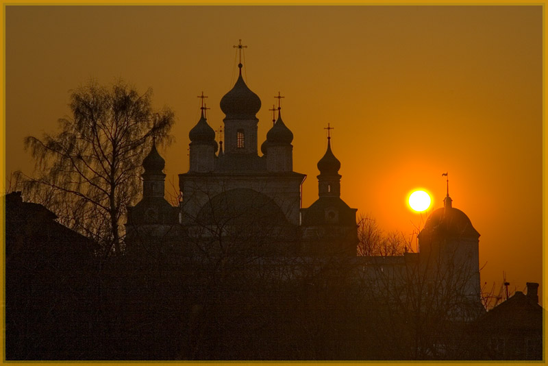 "photo ""Pereslavl. Russia"" tags: architecture, landscape, sunset"