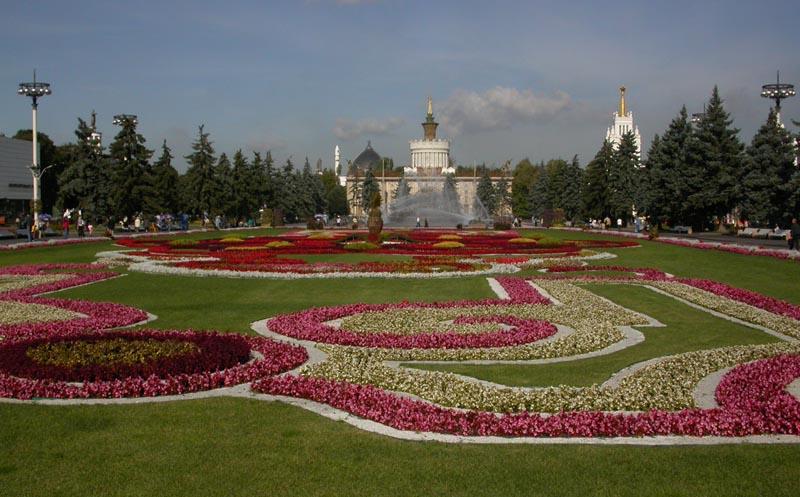 """фото """"ВВЦ вид на павильон Украина."""" метки: архитектура, пейзаж,"""