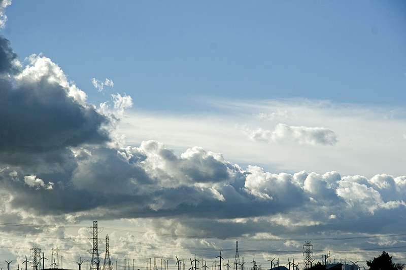 "photo ""Electrified clouds"" tags: landscape, clouds"
