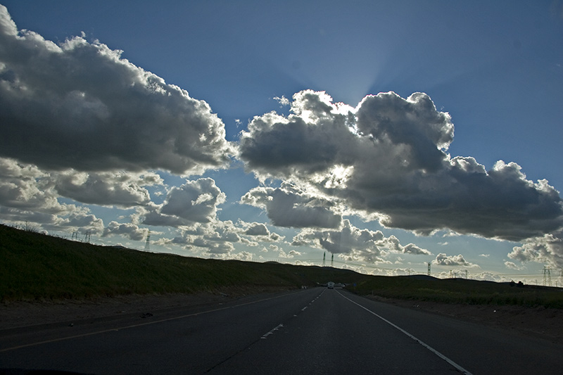 "photo ""clouds in California"" tags: landscape, clouds"