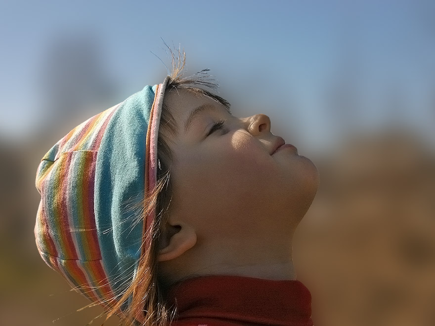 "фото ""Навстречу солнцу"" метки: портрет, дети"