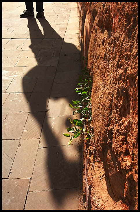 "photo ""The shadow has come  :)))"" tags: misc., abstract,"