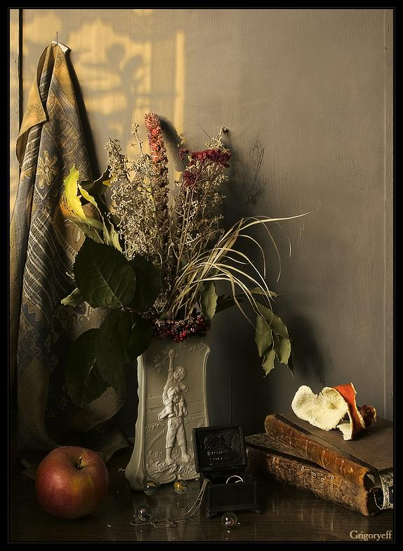 "photo ""Still life with orange skin"" tags: still life,"