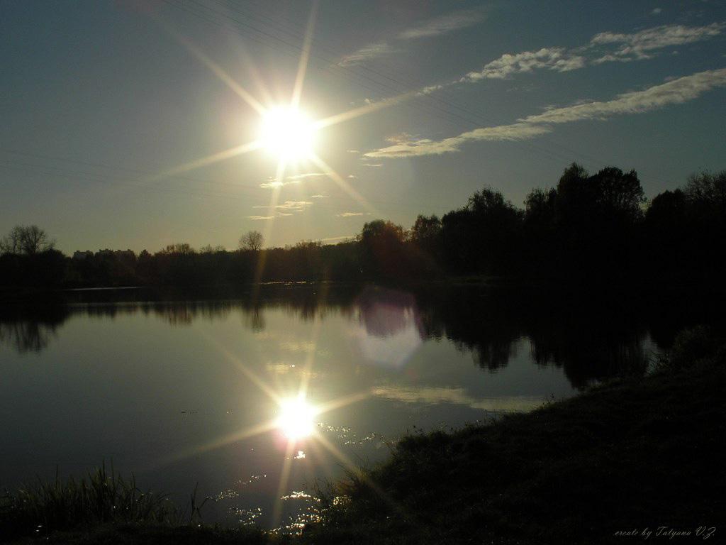 "фото ""two suns"" метки: пейзаж, закат"