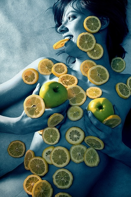 """photo """"-- Diet ---"""" tags: nude, glamour,"""