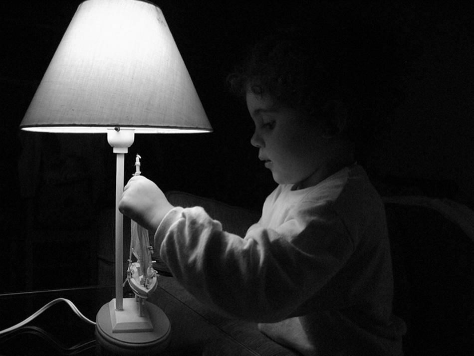 "photo ""Curiosidade"" tags: portrait, children"