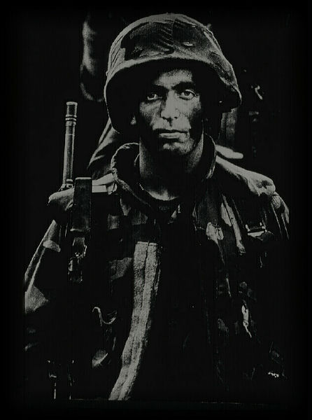 "photo ""War Weary"" tags: portrait, reporting, man"