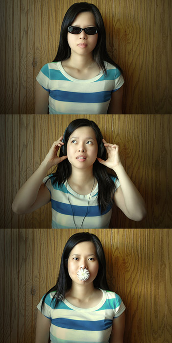 "photo ""see-hear-speak"" tags: portrait, woman"