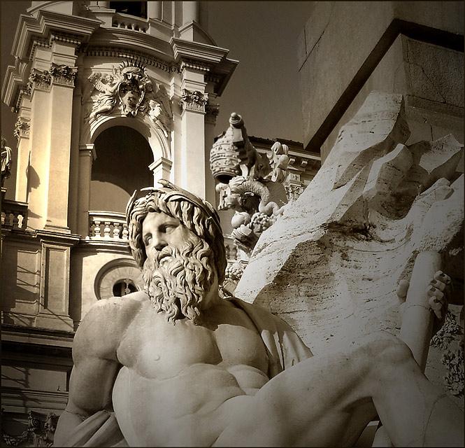 """фото """"fontana dei fiumi"""" метки: ,"""