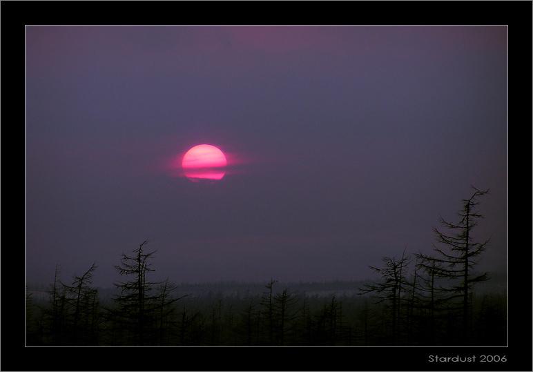 "photo ""Неожиданный закат"" tags: landscape, spring, sunset"