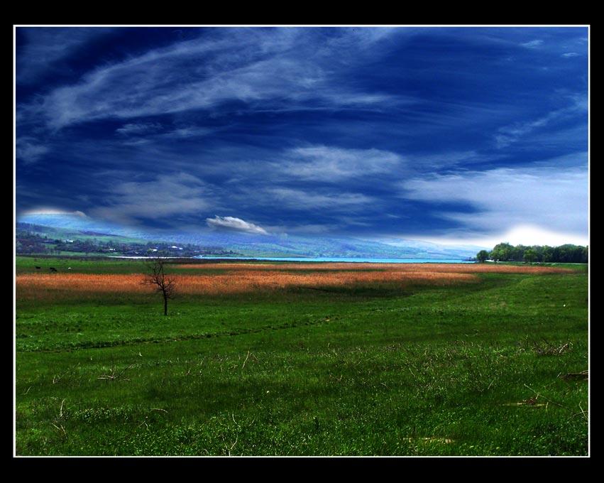 "фото ""По дороге домой"" метки: пейзаж, облака"