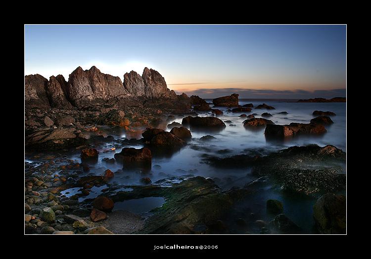 "photo ""fim de mais um dia..."" tags: landscape, sunset"