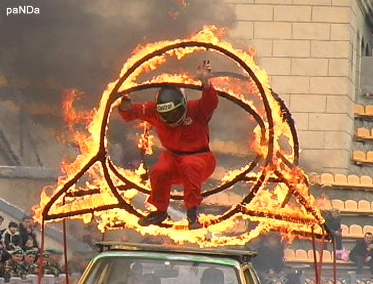 "фото ""The stuntman... Not always the trick is possible  Каскадер не всегда трюк удается"" метки: ,"