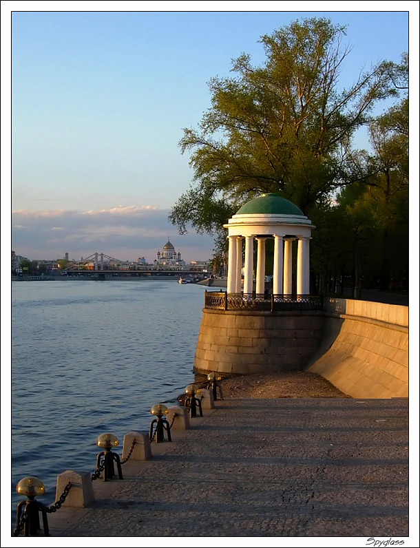 "photo ""Gorki Park"" tags: landscape, sunset, water"
