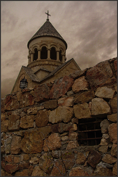 "photo ""Noravank church"" tags: travel, architecture, landscape,"