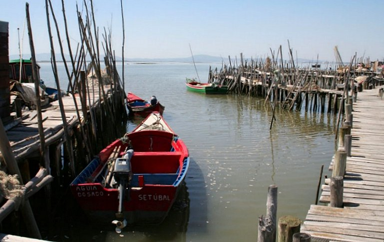 "photo ""Carrasqueira-Palafitte Fishing Harbour"" tags: landscape,"