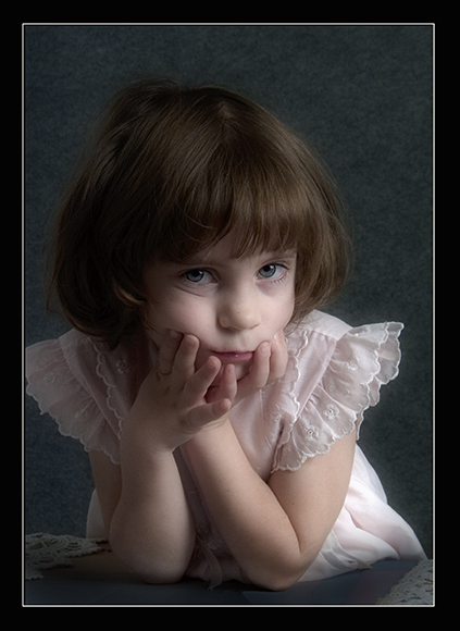 "photo ""Almost angel"" tags: portrait, children"