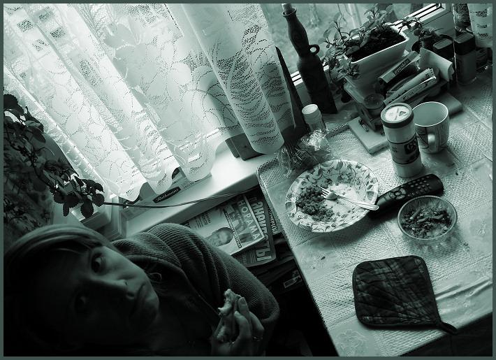 """фото """"Бытовуха..."""" метки: портрет, черно-белые,"""