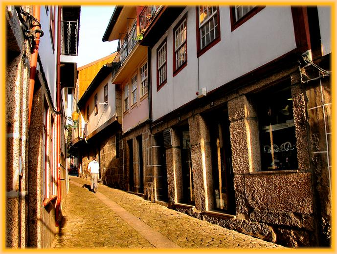 "photo ""Guimaraes 2"" tags: architecture, landscape, sunset"