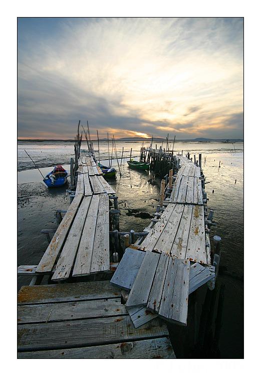 "photo ""Twin Path"" tags: landscape, sunset"