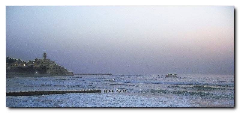 "photo ""Evening on the sea"" tags: landscape, water"