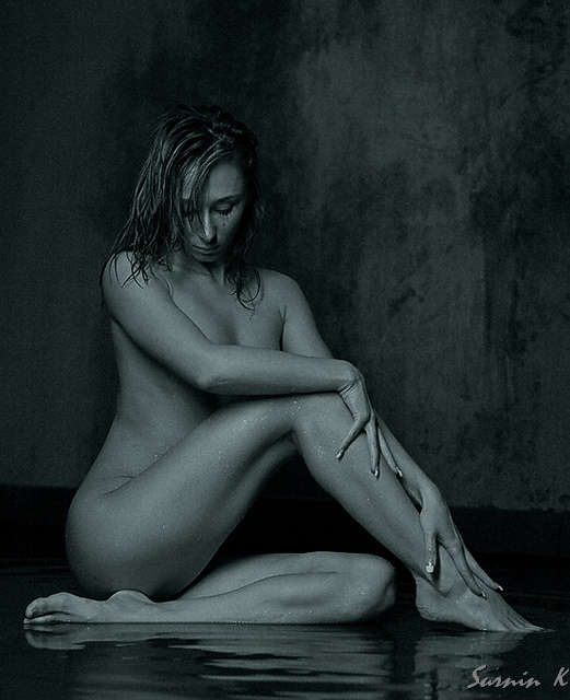 "photo ""Steadiness"" tags: nude, black&white,"