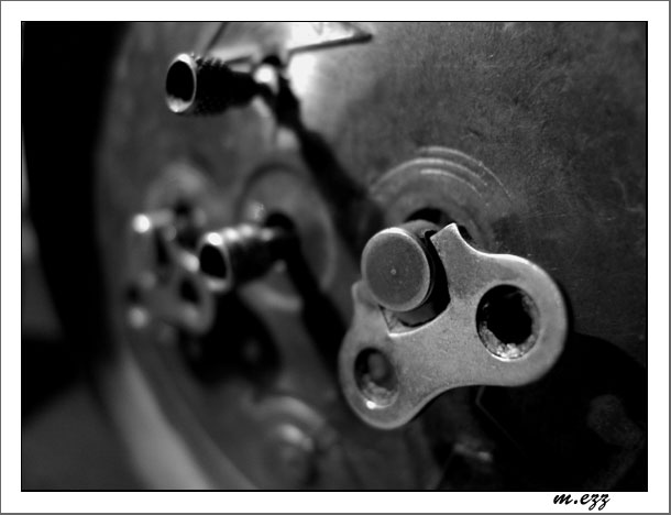 "photo ""old energy"" tags: macro and close-up, black&white,"