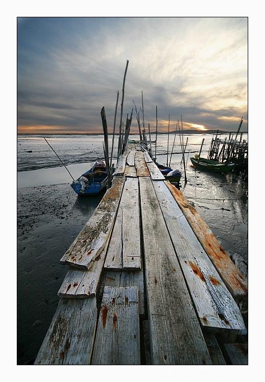 "photo ""Path"" tags: landscape, sunset"