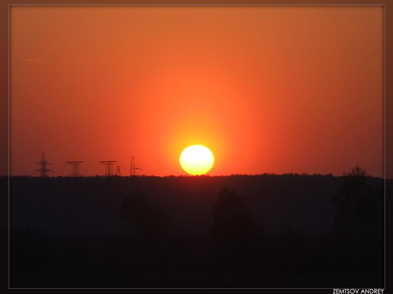 "photo ""Sunset"" tags: landscape, night"