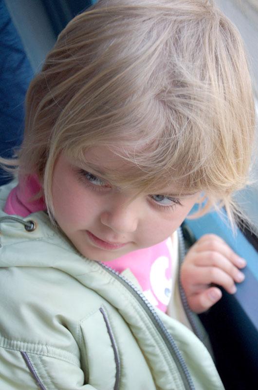 "photo ""Children's Shyness"" tags: portrait, genre, children"