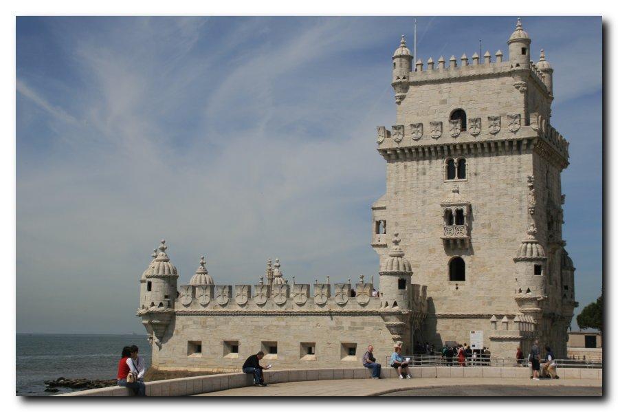 """photo """"Torre de Belem I"""" tags: architecture, landscape,"""